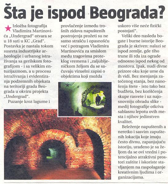Informer – Šta je ispod Beograda?